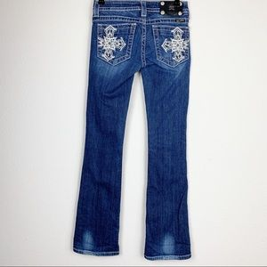 Miss Me Bootcut Jeans Size 26 JP5076-2S
